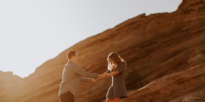 LOS ANGELES ENGAGEMENT HALY + JAY