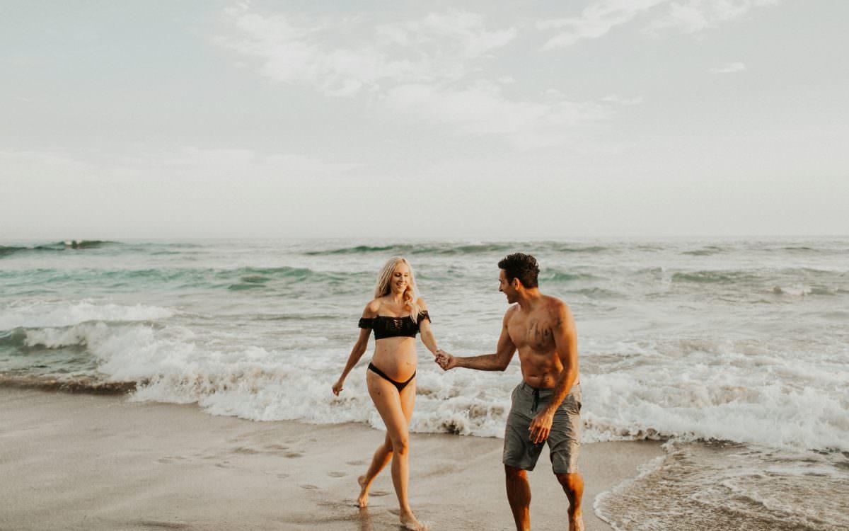 SARAH + DAVE BEACH MATERNITY