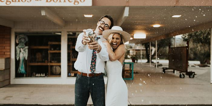 Desert Elopement Borrego Springs