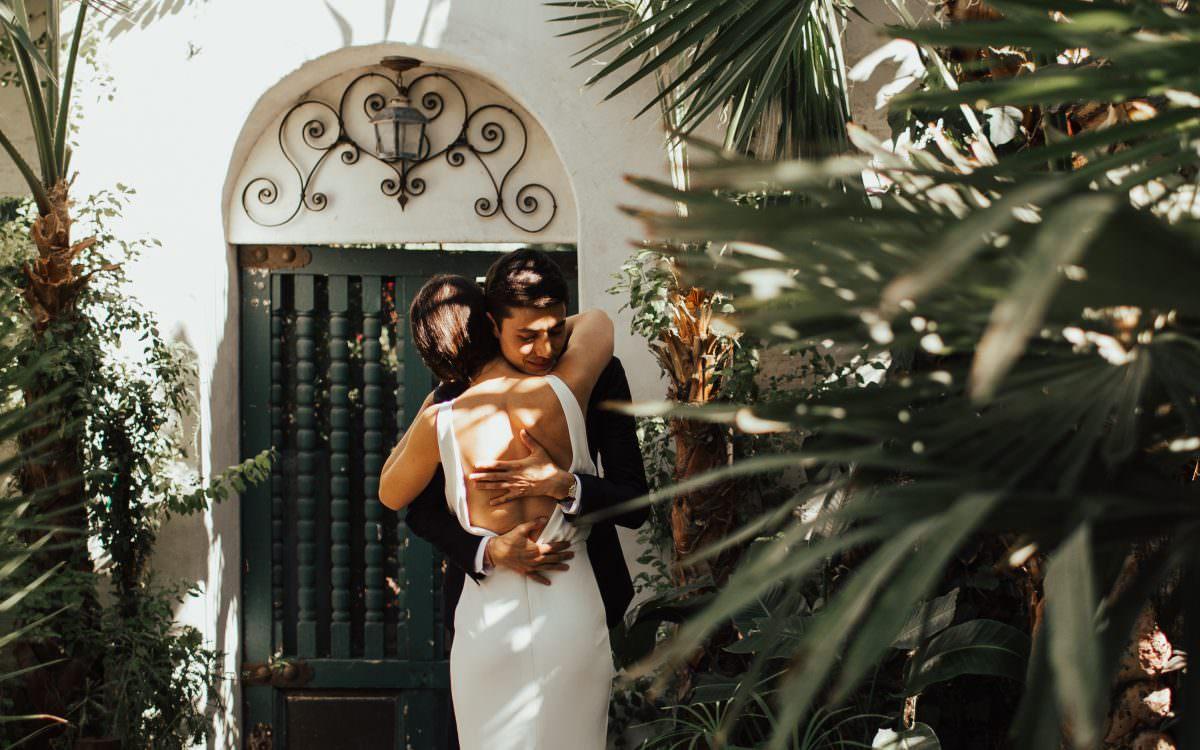 TONY + MARISA CASA DE MONTE VISTA PALM SPRINGS WEDDING