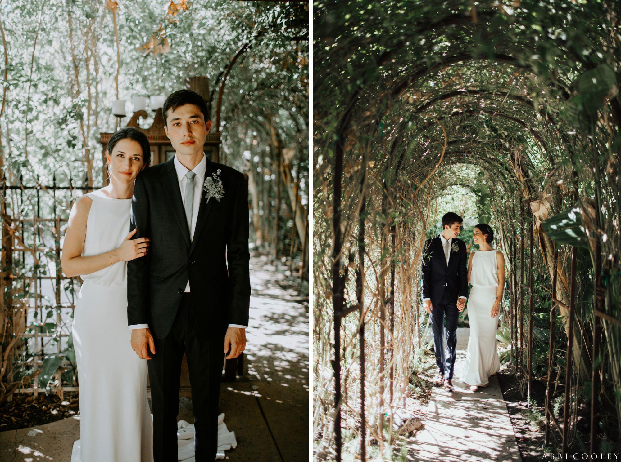 secret garden wedding Casa de Monte Vista Palm Springs Wedding