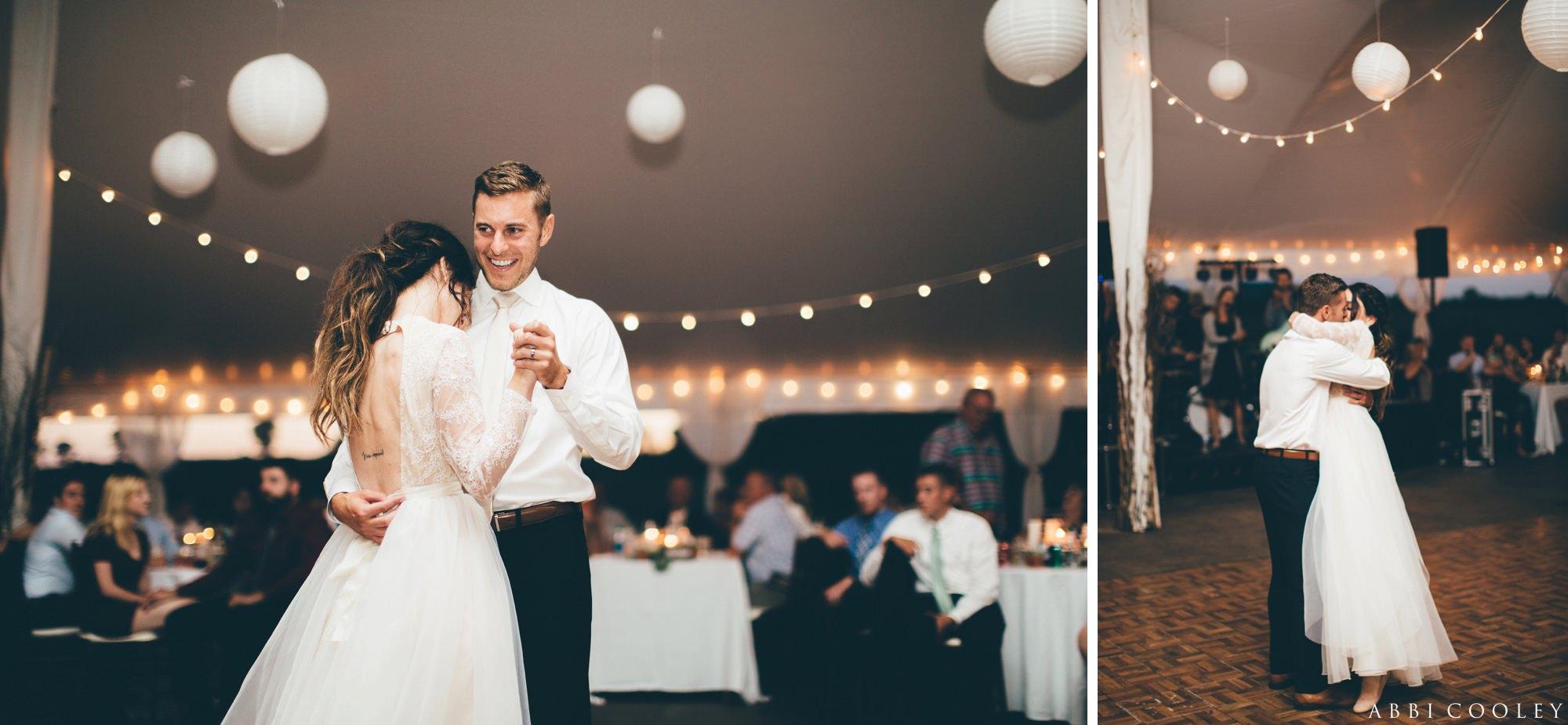 First dance Oak Hill Farms Wedding