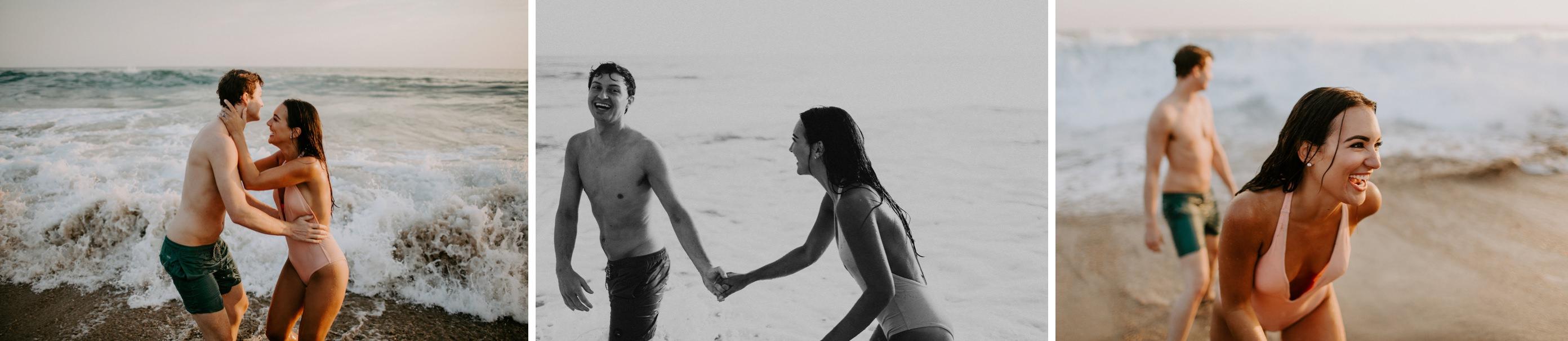 Kathleen Barnes California Beach Couples Session