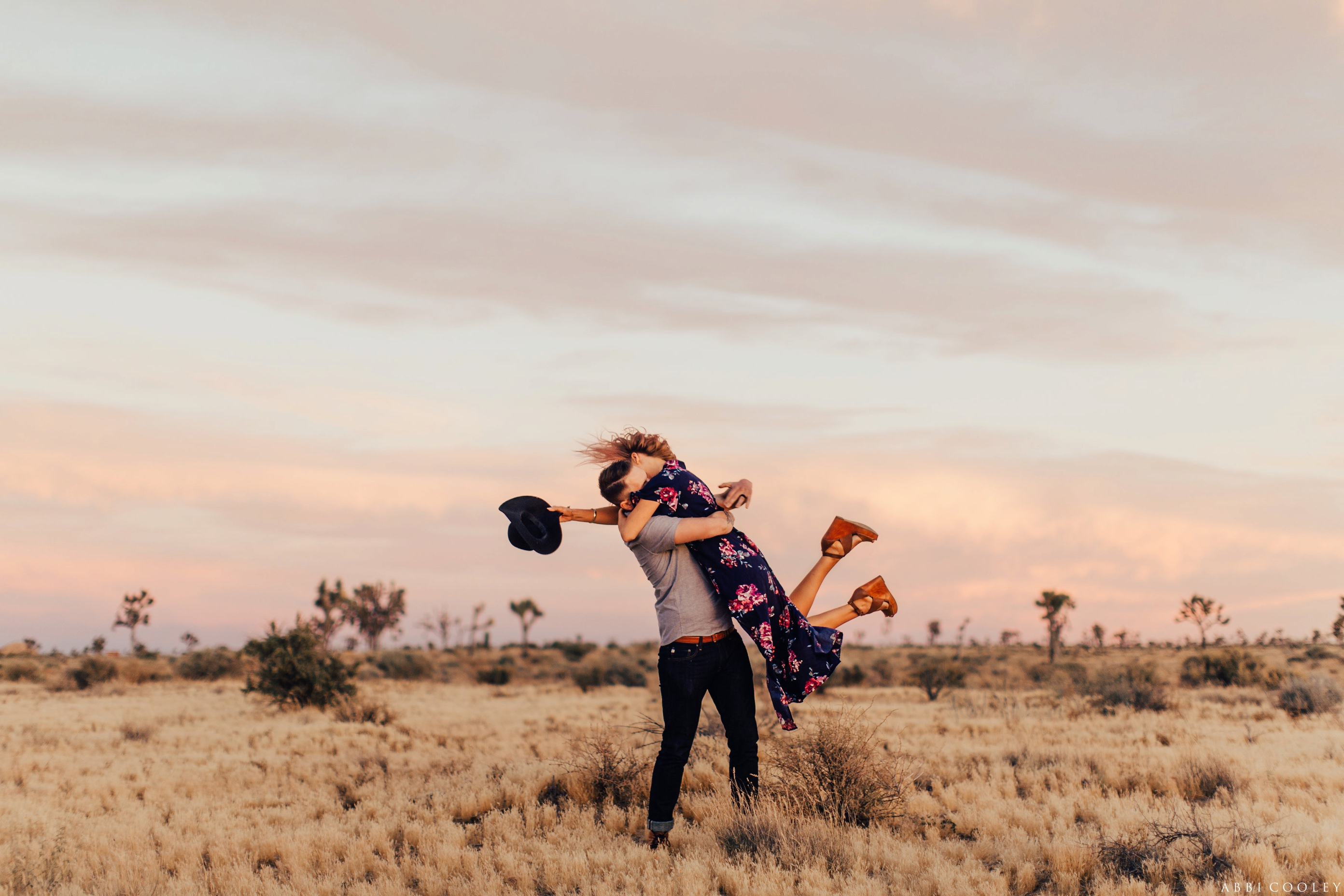 chunky wedges engagement outfit Joshua Tree Anniversary Session