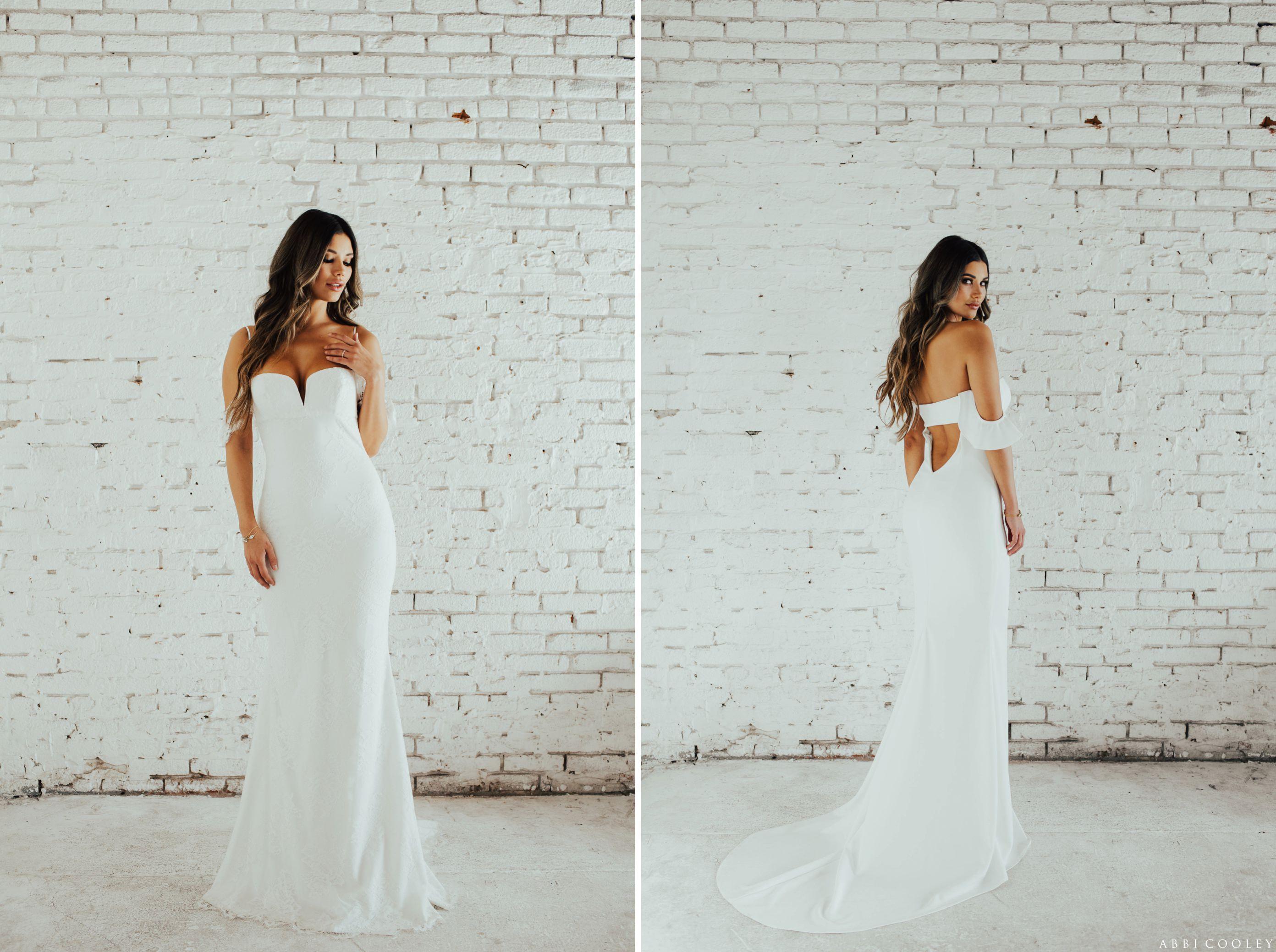 strapless wedding gown Katie May 2017 Lookbook