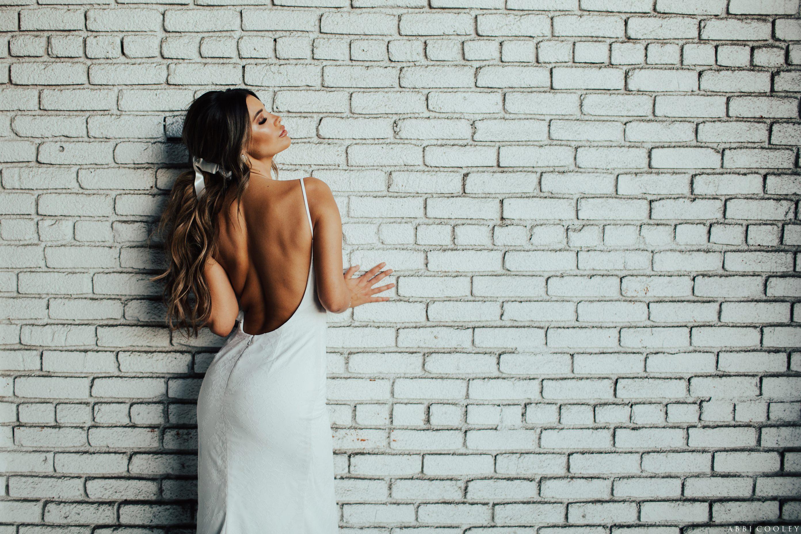 sexy wedding dress Katie May 2017 Lookbook
