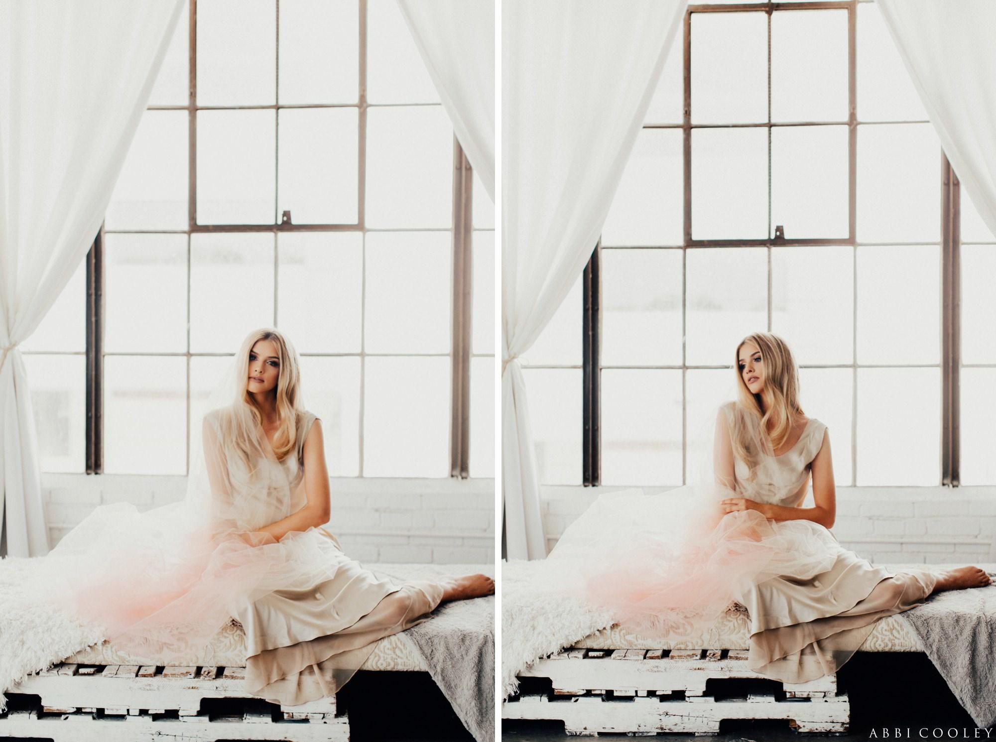 colored veils The Veiled Beauty 2017 Lookbook