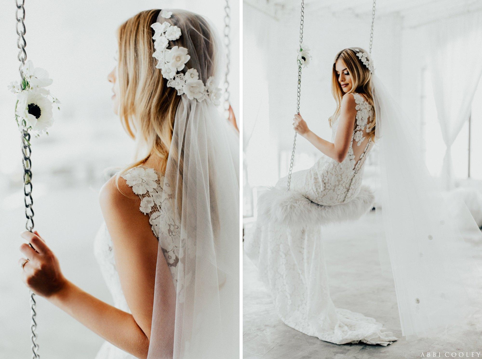 floral veil The Veiled Beauty 2017 Lookbook