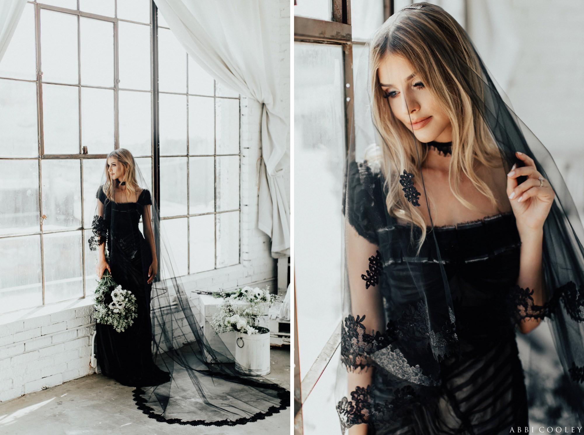 black veils The Veiled Beauty 2017 Lookbook