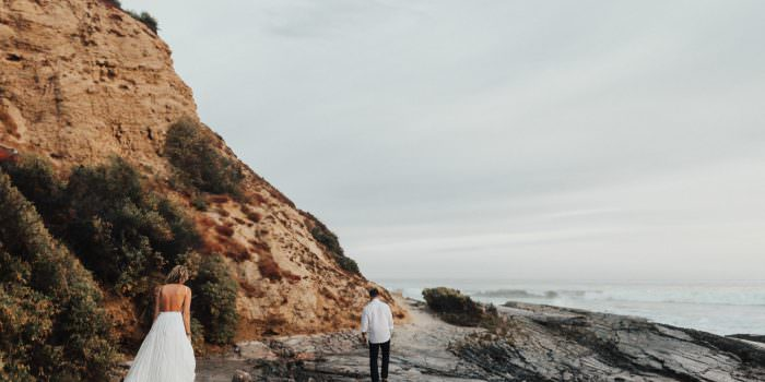 NEWPORT BEACH ENGAGEMENT AUTUMN + JACOB