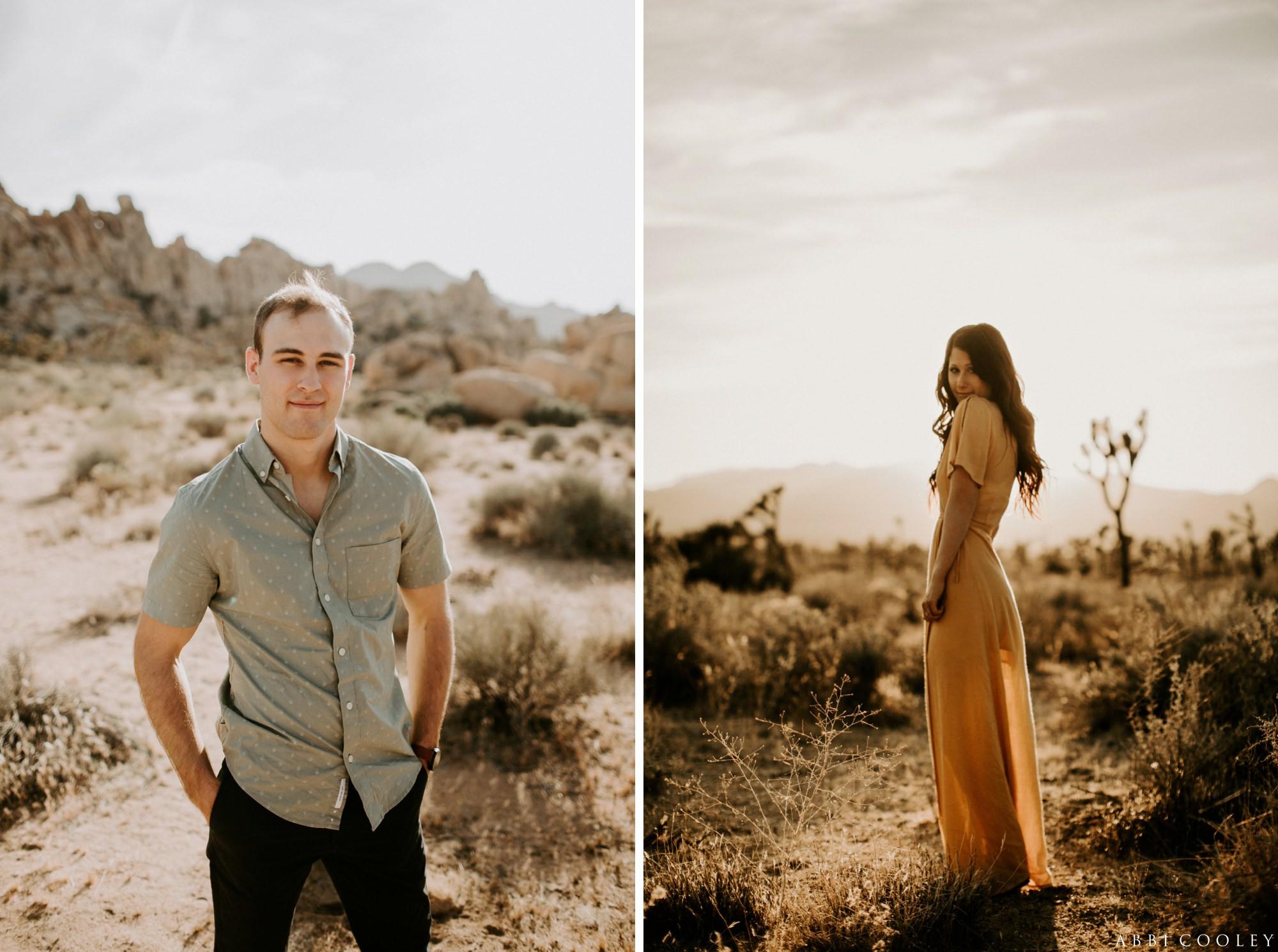 engagement shoot outfit ideas Joshua Tree California Engagement || Abbi Cooley