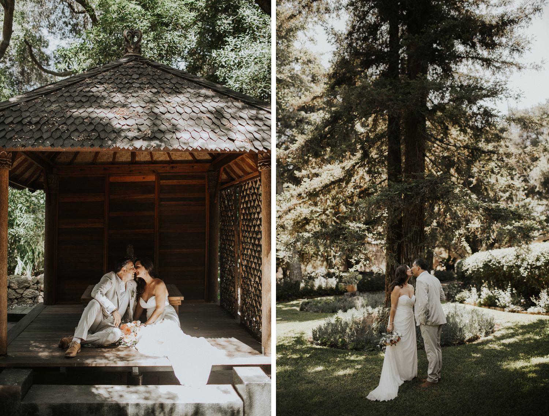 botanical garden wedding Ojai Wedding Taft Botanical Gardens    Abbi Cooley