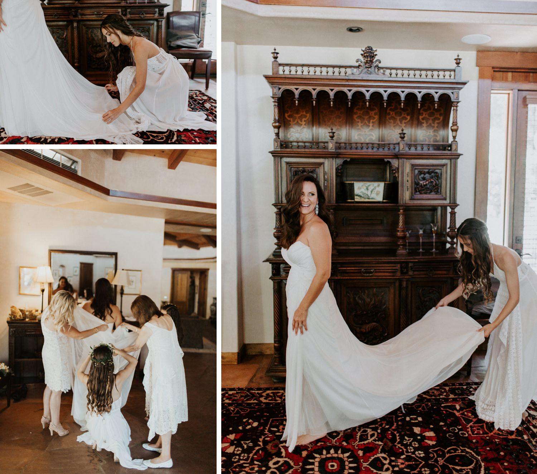 boho wedding Ojai Wedding Taft Botanical Gardens    Abbi Cooley