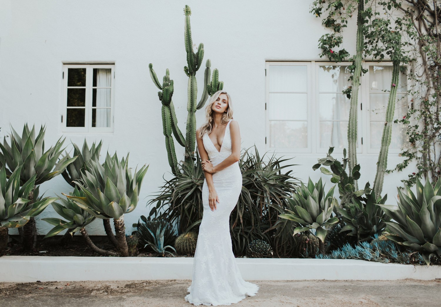 lace wedding dress Katie May Crave You Collection || Abbi Cooley