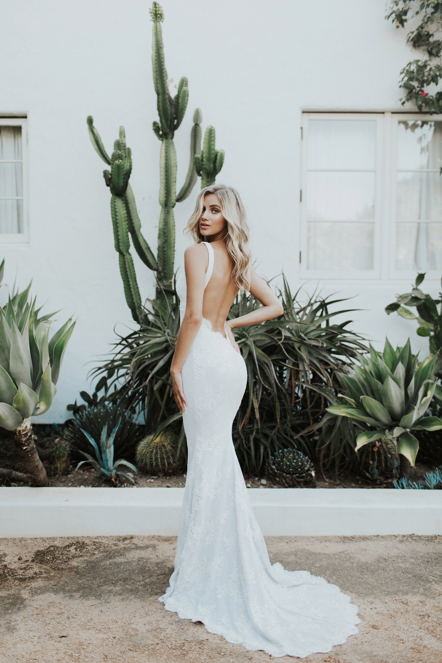 Backless wedding dress Katie May Crave You Collection || Abbi Cooley