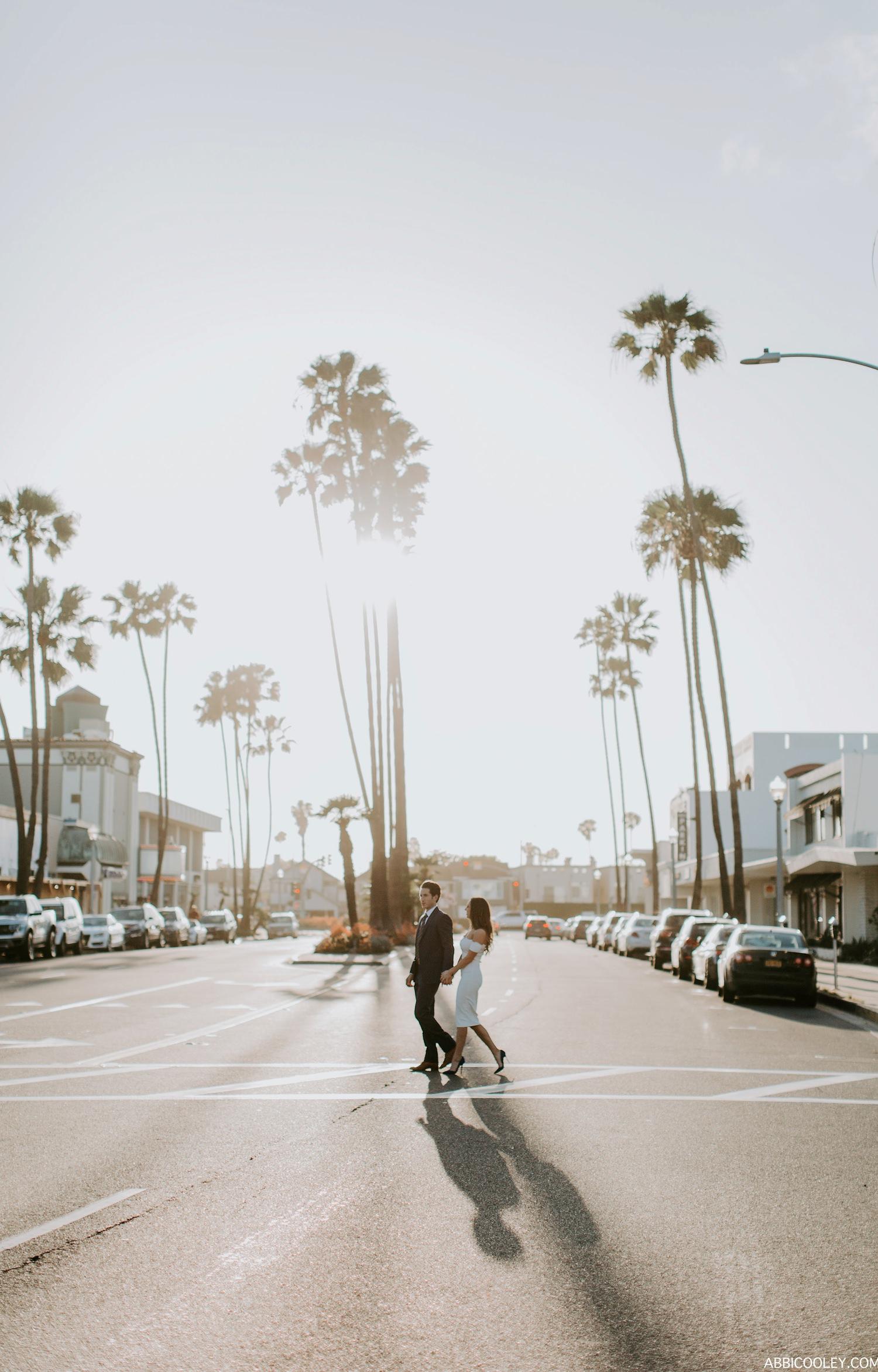 California esthetic engagement shoot Huntington Beach Engagement Shoot    Abbi Cooley