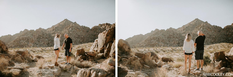 desert dreaming engagement shoot Joshua Tree Engagement Shoot || Abbi Cooley