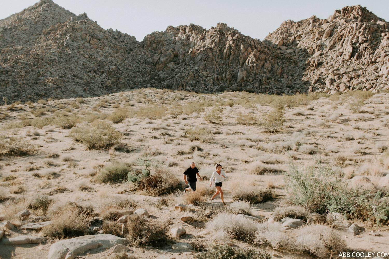 wild and free desert engagement Joshua Tree Engagement Shoot || Abbi Cooley