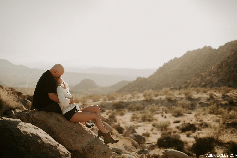 desert engagement Joshua Tree Engagement Shoot || Abbi Cooley