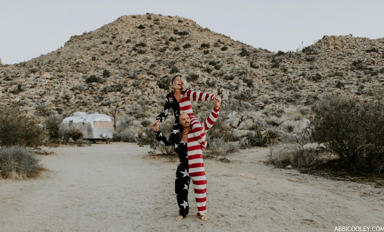 American flag onesies