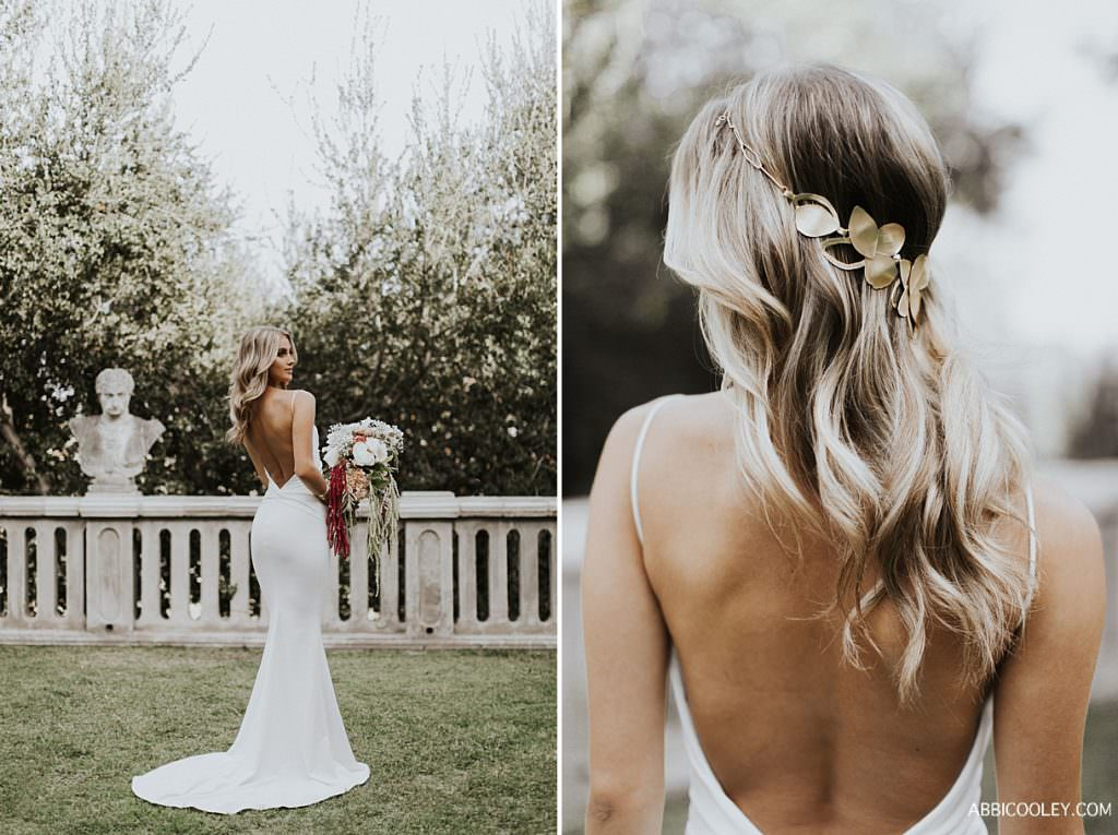 bride hair accessories Katie May Collection || Abbi Cooley