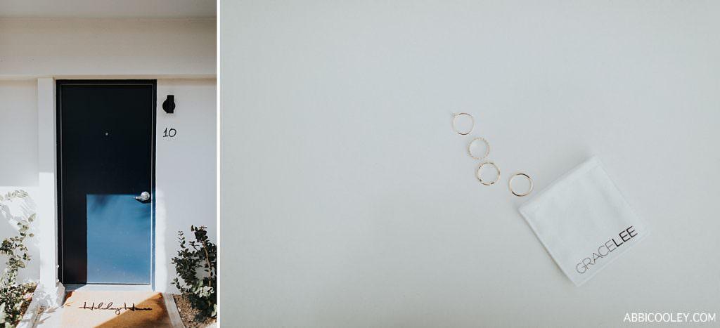 wedding ring details The Living Desert Wedding || Abbi Cooley
