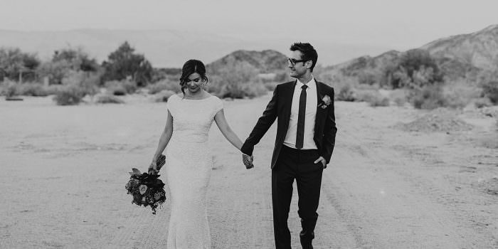 THE LIVING DESERT PALM SPRINGS WEDDING