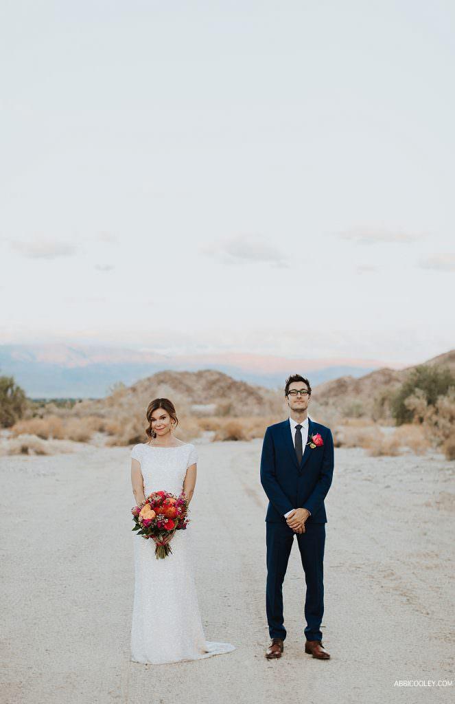 desert elopement The Living Desert Wedding || Abbi Cooley