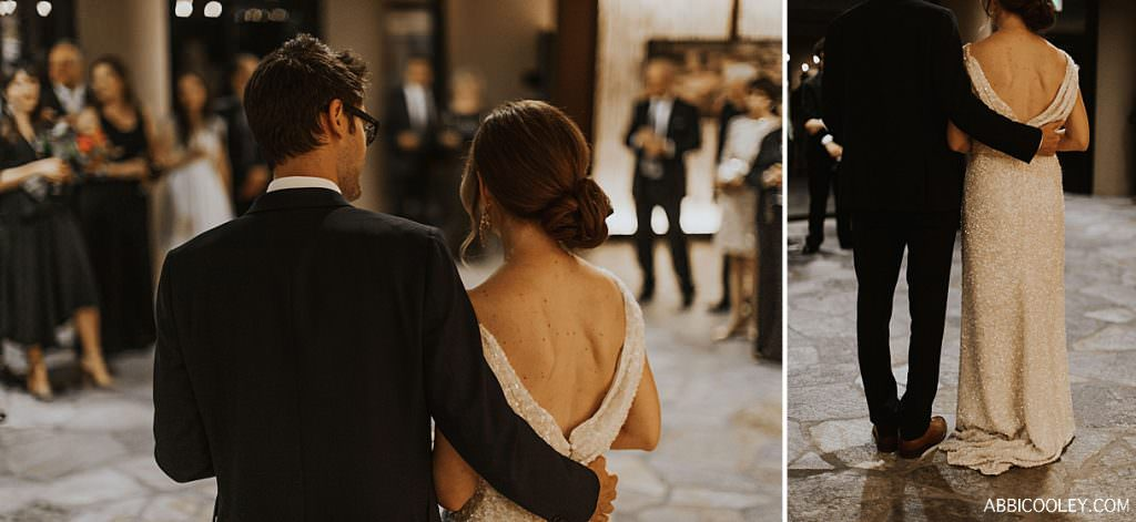 backless wedding gown The Living Desert Wedding