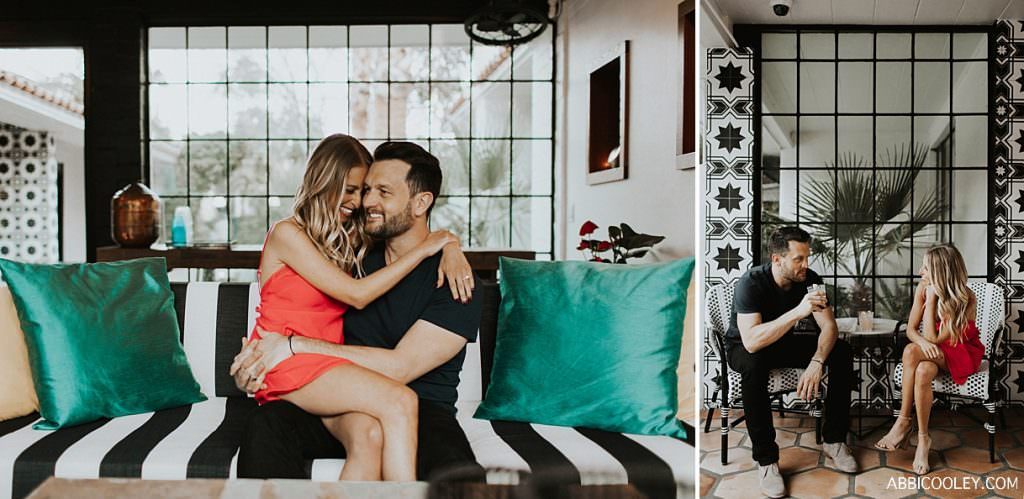 palm springs engagement shoot Palm Springs Engagement Shoot || Abbi Cooley