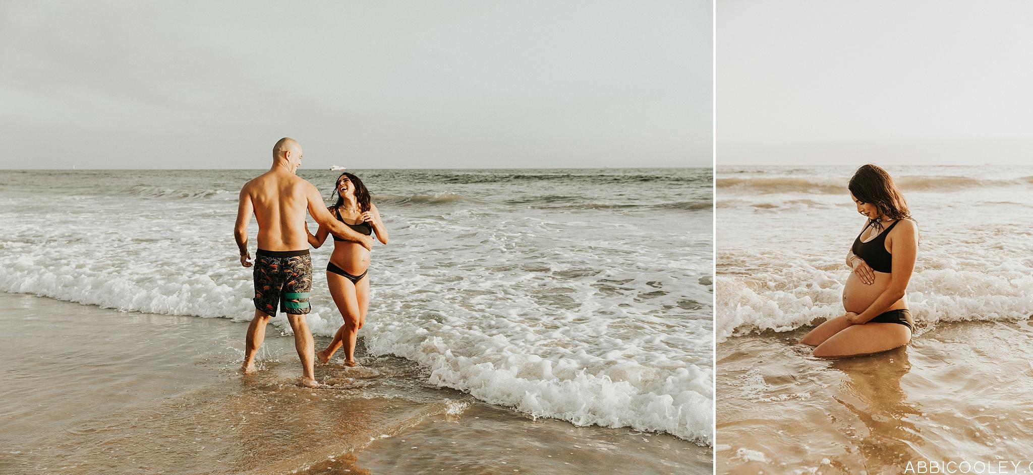 Bikini Maternity Photos Newport Beach