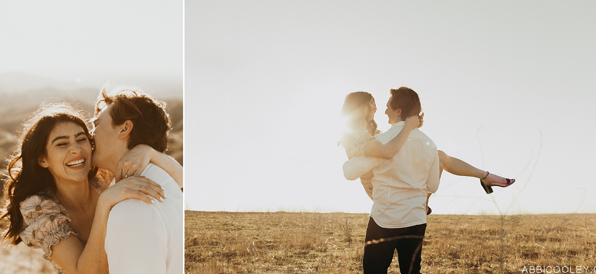 Southern California Hills Engagement