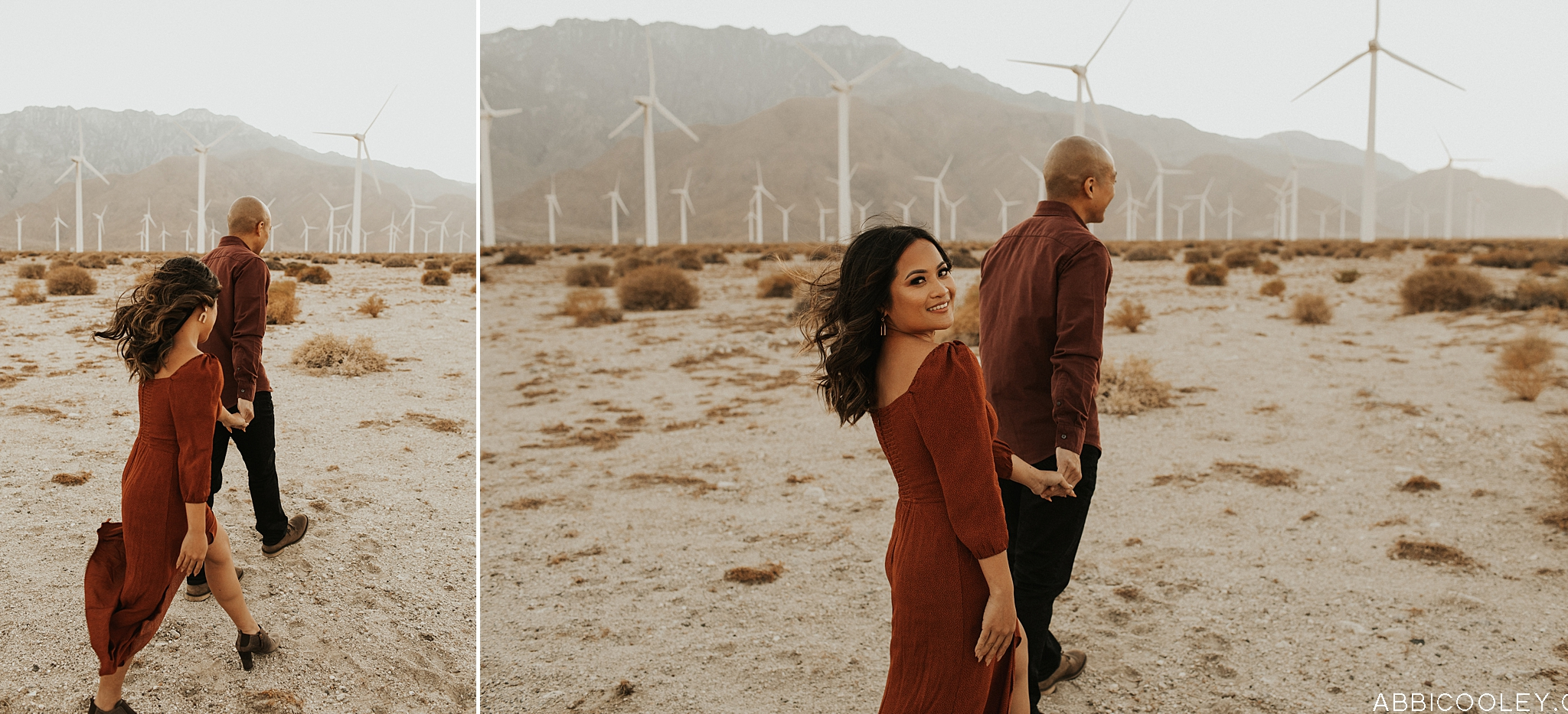 Golden Field Orange County Engagement || Abbi Cooley Photography